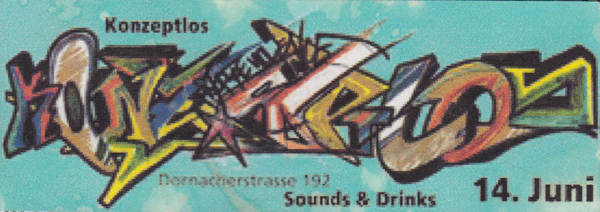 Konzeptlos sounds and drinks 2002